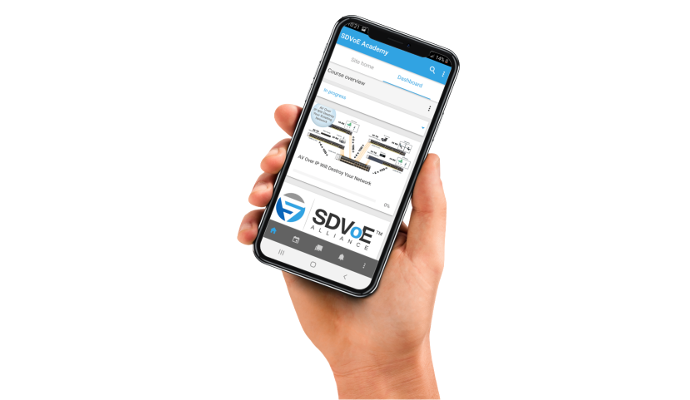 SDVoE Academy Mobile App Launches