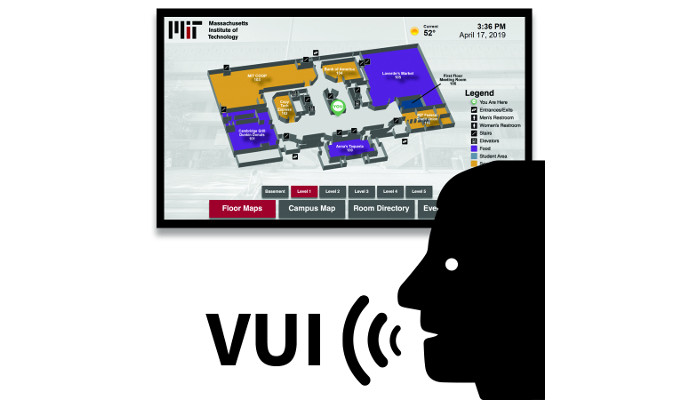 Visix Ships Wayfinding with Voice User Interface Application