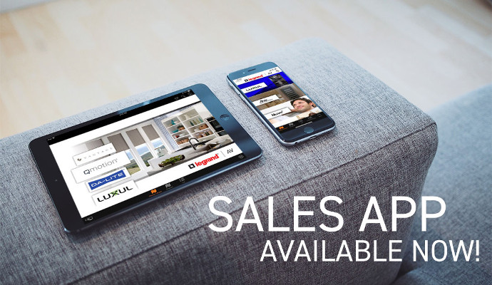 Legrand Resi Sales Sync App Now Available for Download